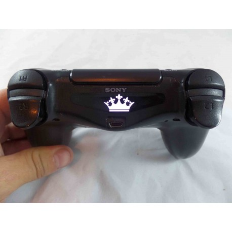 PlayStation PS4 KINGS CROWN Led Light Bar Decal Sticker