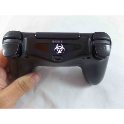 PlayStation 4 PS4 BIO HAZARD LOGO Led Light Bar Decal Sticker
