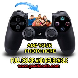 PlayStation PS4 FULL COLOR CUSTOM TOUCHPAD REMOVABLE Decal Sticker