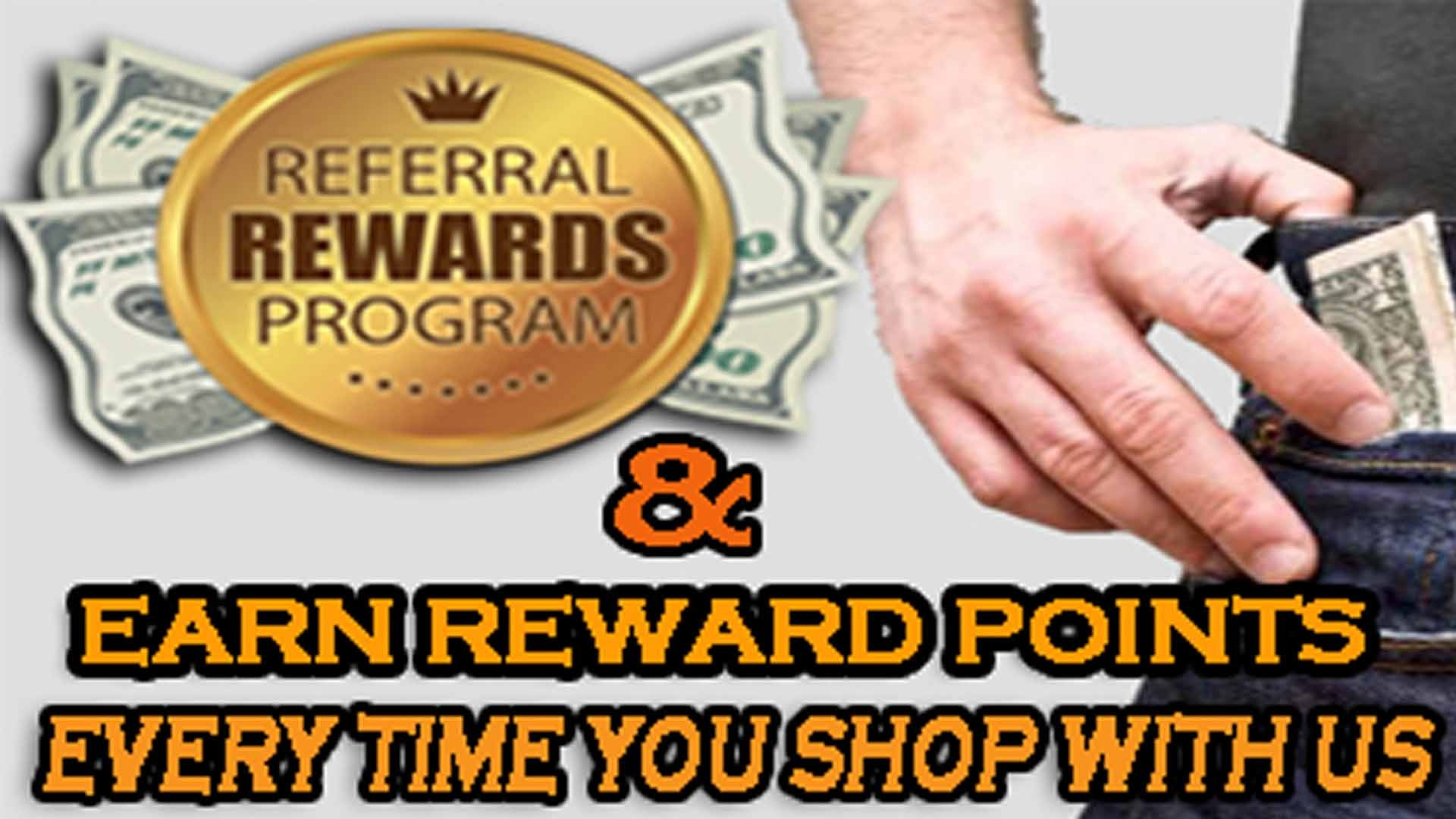 Earn Rewards with every purchase